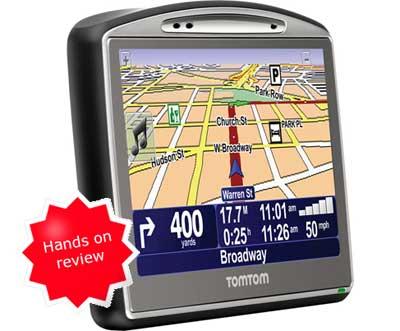 GPS Tracklog: TomTom GO 720 review